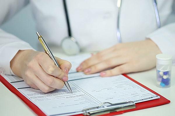 Медицинский сертификат для студентов