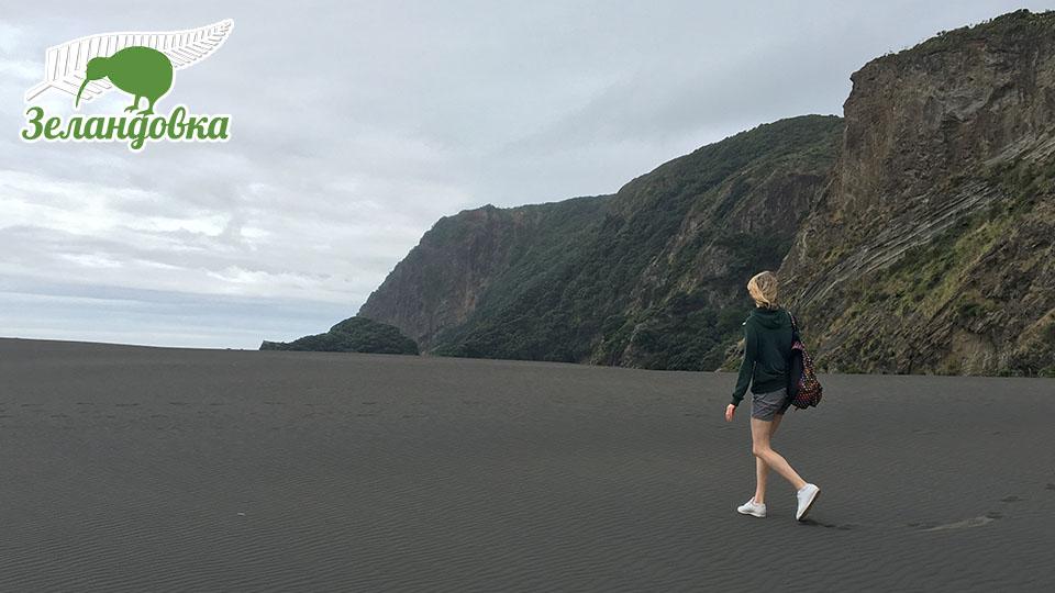 Юлия в Новой Зеландии