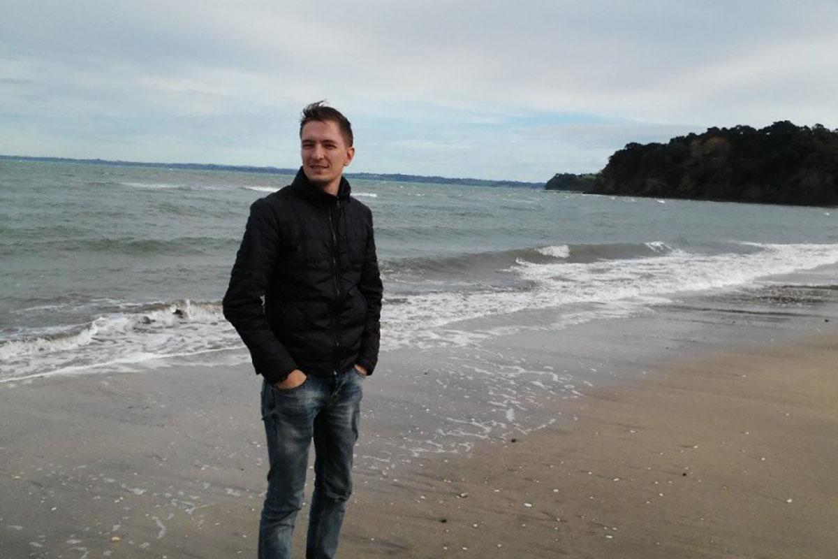 Прогулка по пляжу в Новой Зеландии