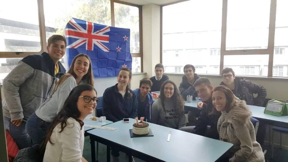 Группа студентов в Kiwi English Academy
