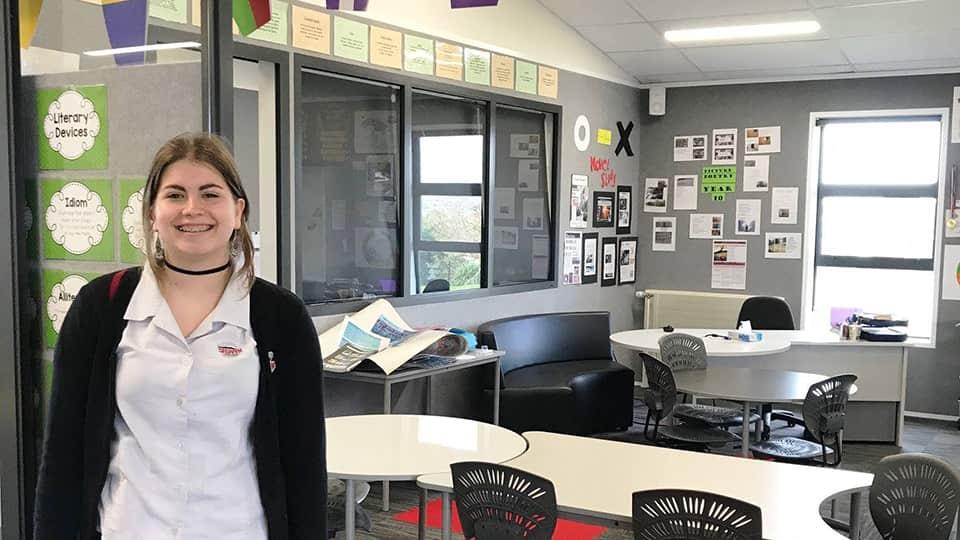 Студентка Kiwi English Academy