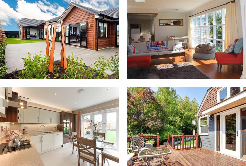 Варианты домов в аренду в Новой Зеландии