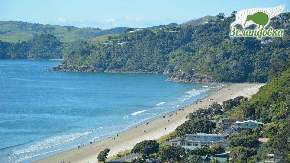 Новозеландский пляж