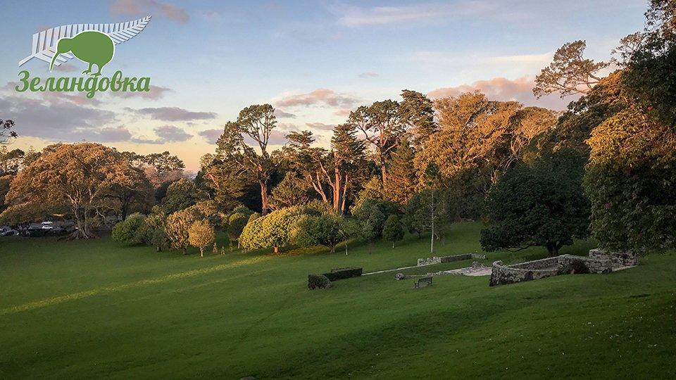 Красивый новозеландский пейзаж