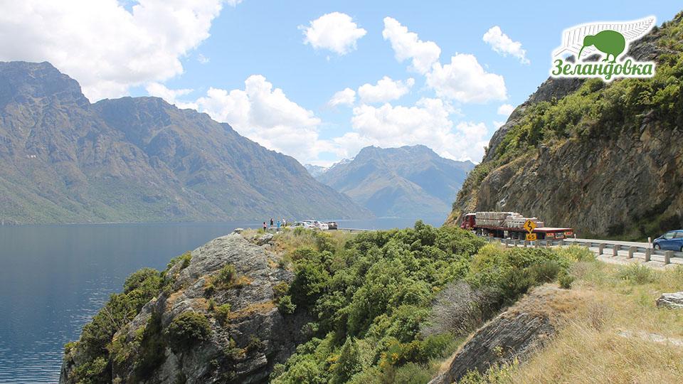 Новозеландские пейзажи. Фото Елизаветы