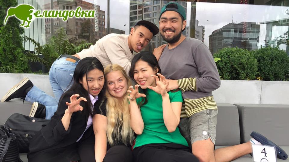 Алена с друзьями