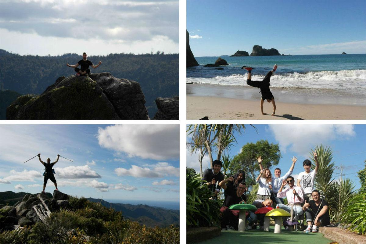 Путешествие по Новой Зеландии во время каникул
