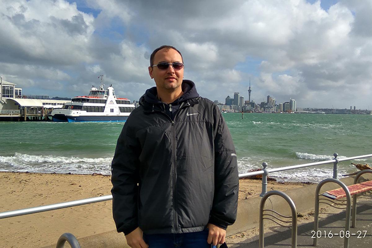 Михаил из Казахстана в Новой Зеландии