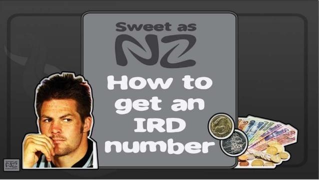 Получение IRD-номера в Новой Зеландии