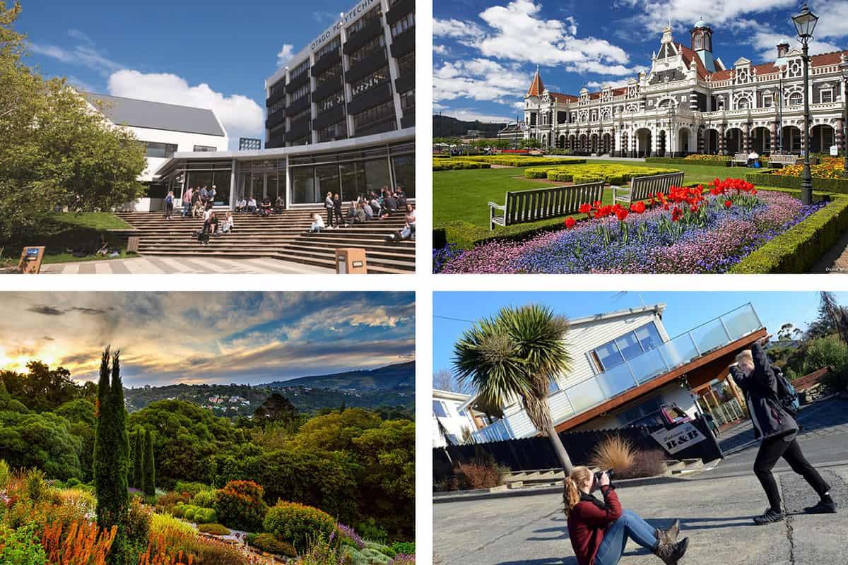 Даннидин и кампус института Otago Polytechnic