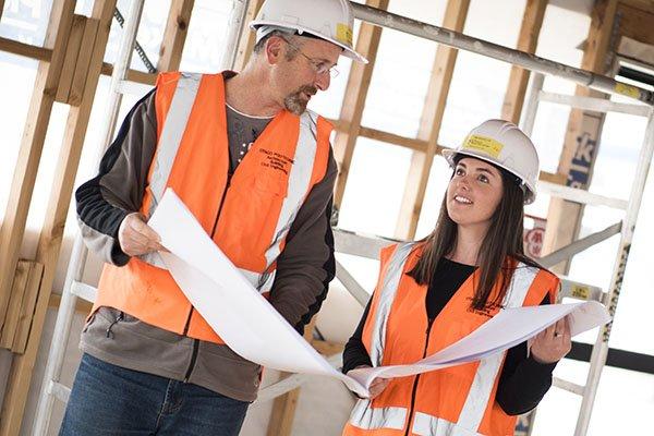 Новозеландские студенты строительных специальностей