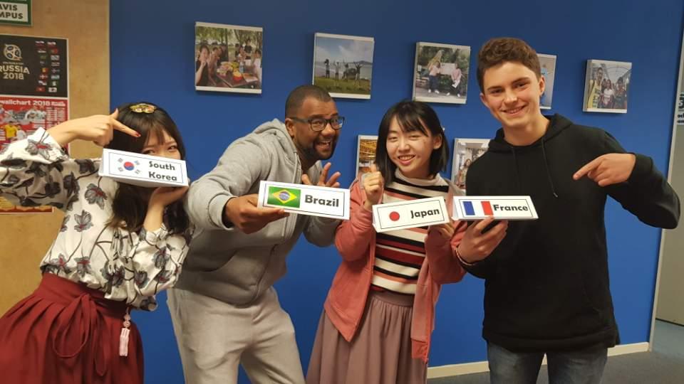 Студенты Kiwi English Academy