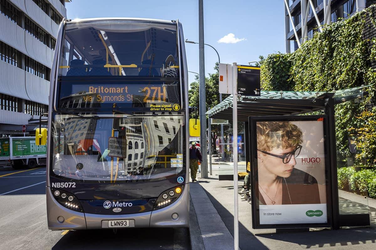 Автобусы в Окленде