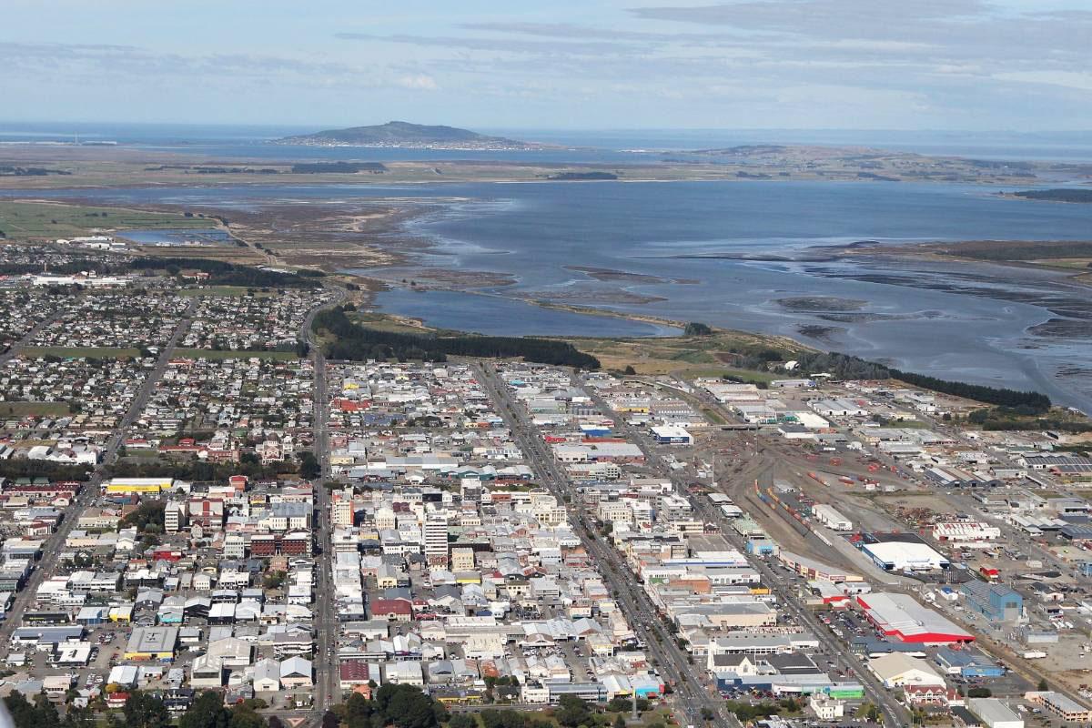 Инверкаргилл - столица региона Саутленд