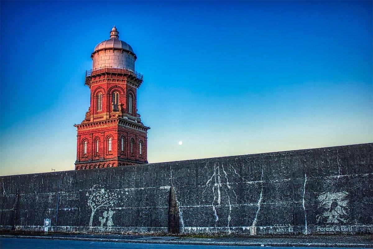 Водонапорная башня в Инверкаргилле