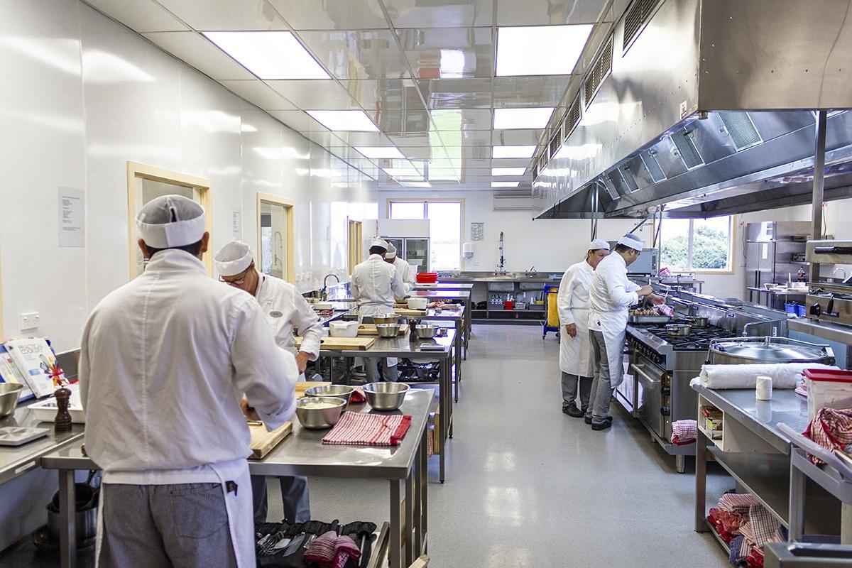 Кухня для обучения студентов в SIT