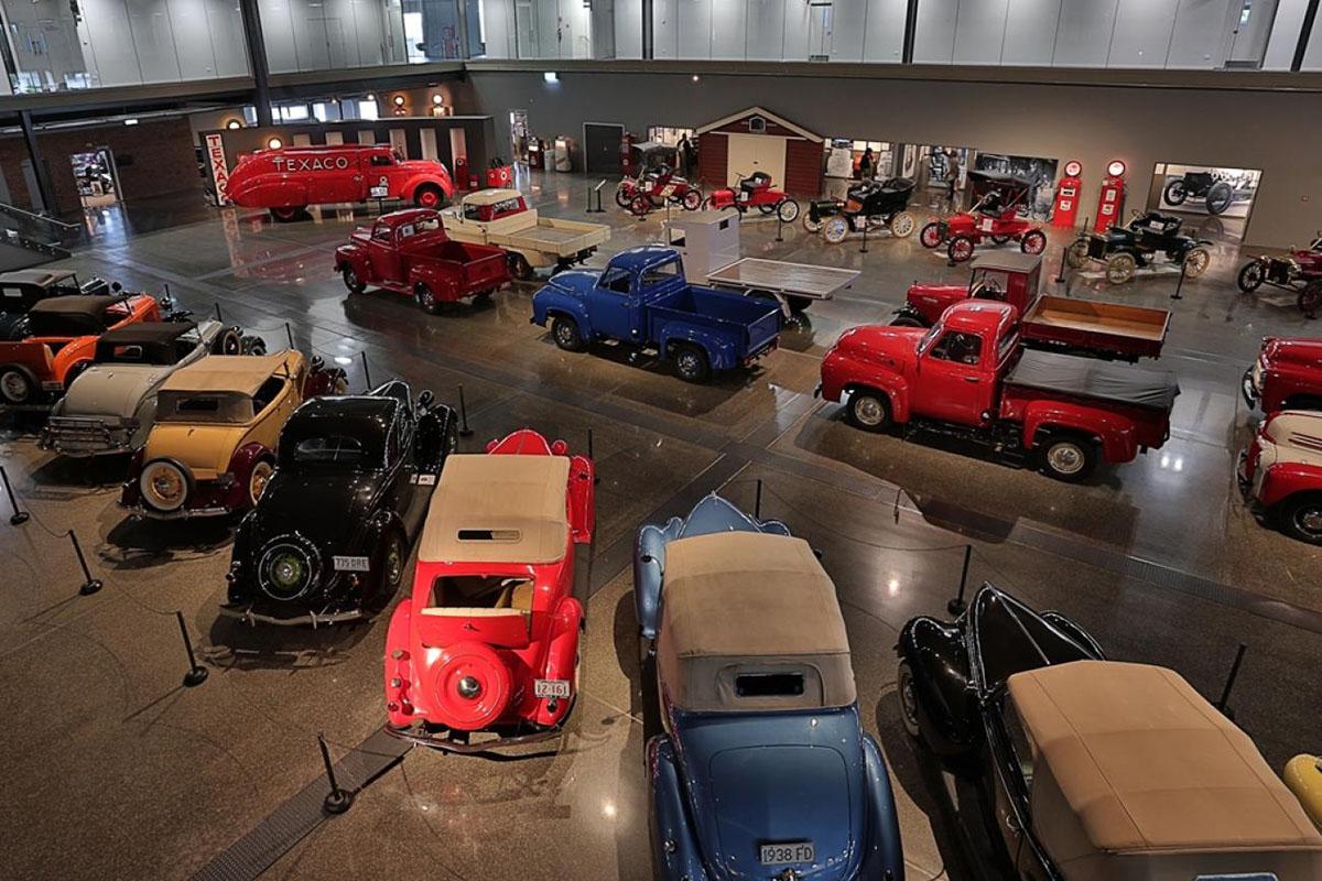 Транспортный музей Билла Ричардсона в Инверкаргилле